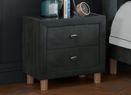 Knox Bedside Chest Grey