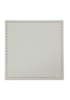 Denby Natural Faux Leather Coaster Set of 4