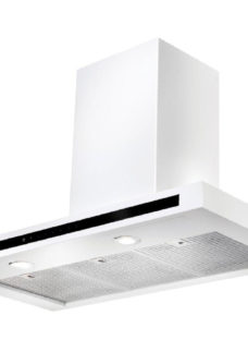 RANGEMASTER Hi-LITE 90 Chimney Cooker Hood - White