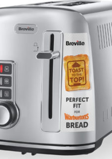 BREVILLE The Perfect Fit for Warburtons VTT570 2-Slice Toaster - Stainless Steel
