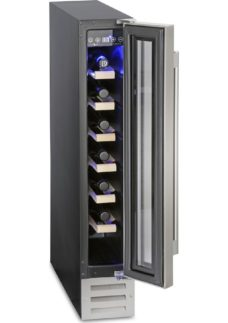 MONTPELLIER WS7DX Wine Cooler - Stainless Steel
