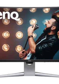 "BENQ EX3203R Quad HD 32"" Curved LED Monitor - Grey"