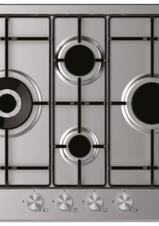 CANDY CHW6D4WPX Gas Hob - Stainless Steel