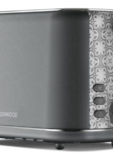 The Abbey Collection TC05.GY 2-Slice Toaster - Slate