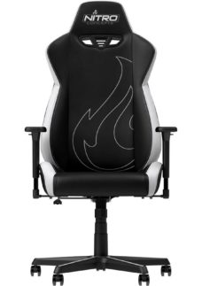 NITRO CONCEPTS S300 EX Gaming Chair - Black & Radiant White