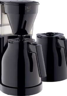 MELITTA Easy Top Therm II Filter Coffee Machine with Spare Jug - Black
