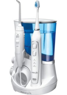 WATERPIK Complete Care 5.0 Electric Toothbrush & Water Flosser Set - Blue & White