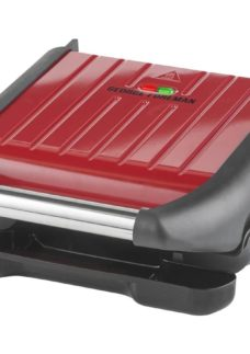 GEORGE FOREMAN 25030 Compact Grill- Red