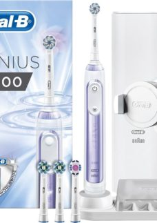 ORAL B Genius 9000 Electric Toothbrush - Orchid Purple