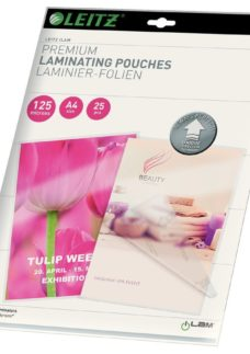 LEITZ iLAM 125 Micron A4 Laminating Pouches - Pack of 25