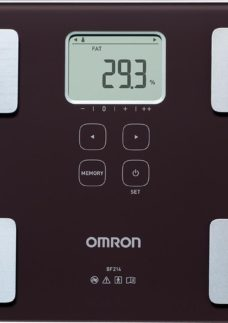OMRON BF214 Electronic Scales - Brown