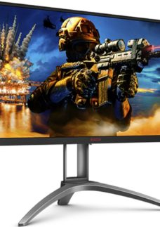 "AOC AG273QZ Quad HD 27"" TN Gaming Monitor - Black & Silver"