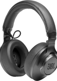 JBL Club One Wireless Bluetooth Noise-Cancelling Headphones - Black