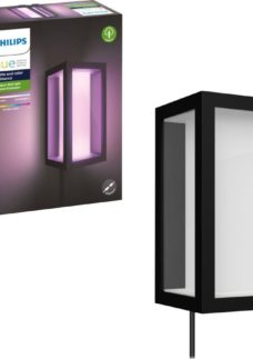 PHILIPS Hue Impress White & Colour Ambiance Outdoor Wall Lamp