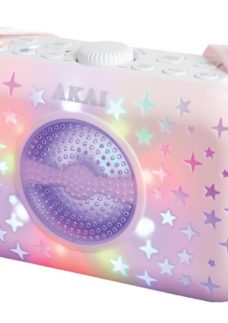 AKAI A58102 Portable Bluetooth Speaker - Pink