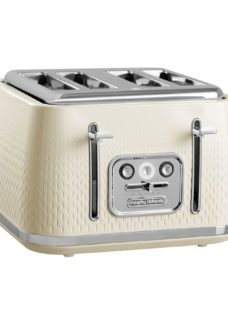 MORPHY RICHARDS Verve 243011 4-Slice Toaster - Cream