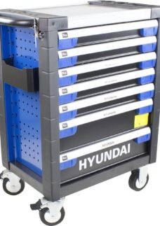 HYUNDAI HYTC9003 Tool Chest Cabinet & 305 Assorted Tools - Blue & Black