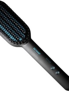 REVAMP Progloss DeepForm UK-BR-2000-GB Hair Straightening Brush - Black