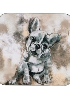Denby French Bull Dog Coasters Pack of 6