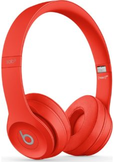 BEATS Solo 3 Wireless Bluetooth Headphones - Red