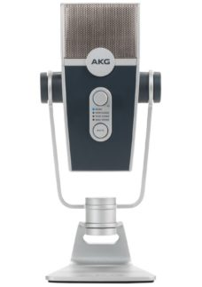 AKG Lyra Ultra-HD Multimode USB Microphone - Silver