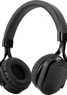 AKAI A61042G Wireless Bluetooth Headphones - Grey