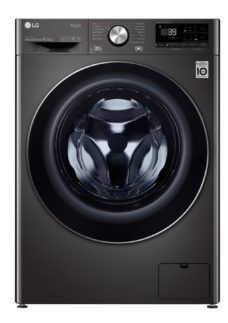 LG TurboWash 360 with AI DD V9 F4V910BTSE WiFi-enabled 10.5 kg 1400 Spin Washing Machine - Black