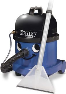 NUMATIC Henry Wash HWV370 Cylinder Carpet Cleaner - Blue