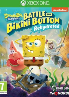XBOX ONE Spongebob Squarepants: Battle for Bikini Bottom Rehydrated