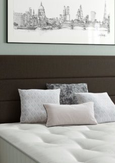 Stamford Headboard 3'0 Single BROWN
