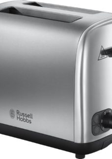 RUSSELL HOBBS 24081 2-Slice Toaster - Brushed Stainless Steel