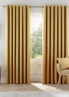 """Helena Springfield Eden Lined Curtains 90"""" x 90"""""""
