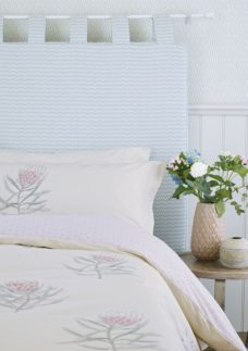 Sanderson Protea Flower Super Kingsize Duvet Cover